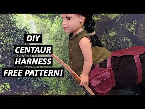DIY Centaur Harness - FREE Pattern!