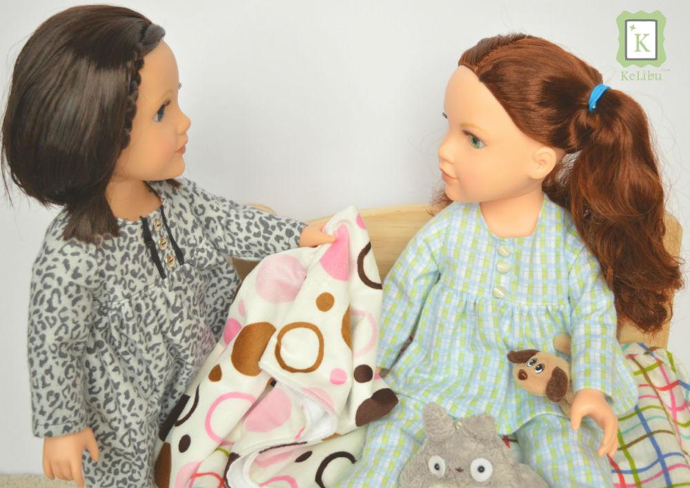 pajamas for Journey Girls dolls