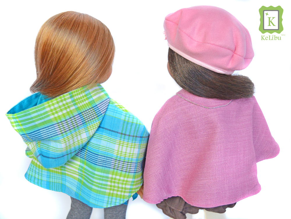 cape for 18 inch dolls