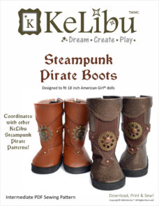 pirate boots for 18 inch dolls