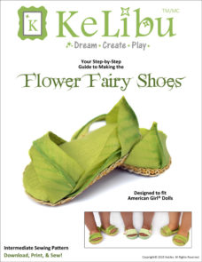fairy shoes for 18 inch dolls