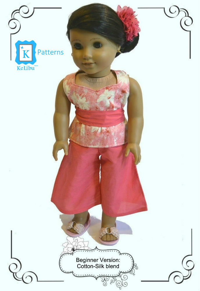 gauchos for 18 inch dolls