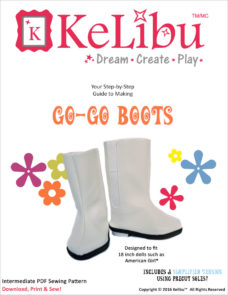 go go boots for 18 inch dolls