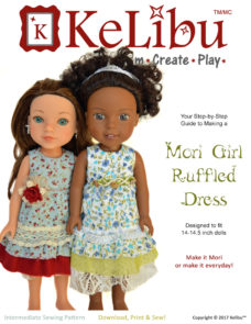 Mori Girl dress for 14-14.5 inch dolls