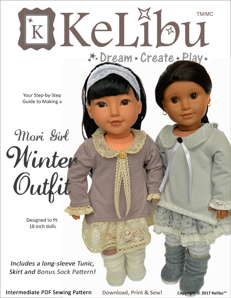 mori girl for 18 inch dolls