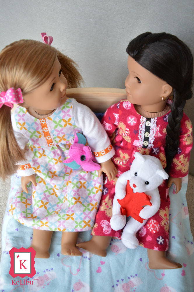 pj's for 18 inch dolls