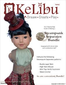 steampunk for 18 inch dolls