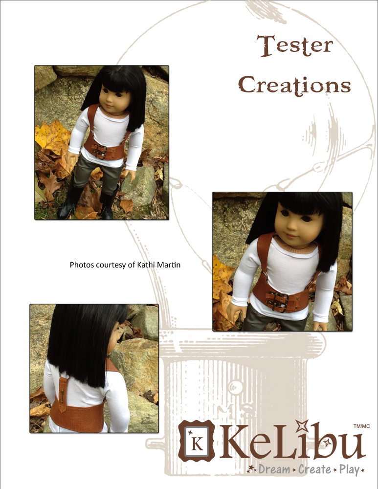 waist cincher for 18 inch dolls