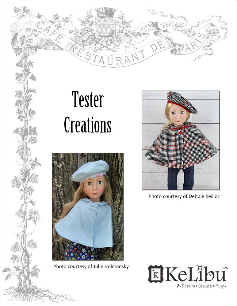 cape for A Girl For All Time dolls