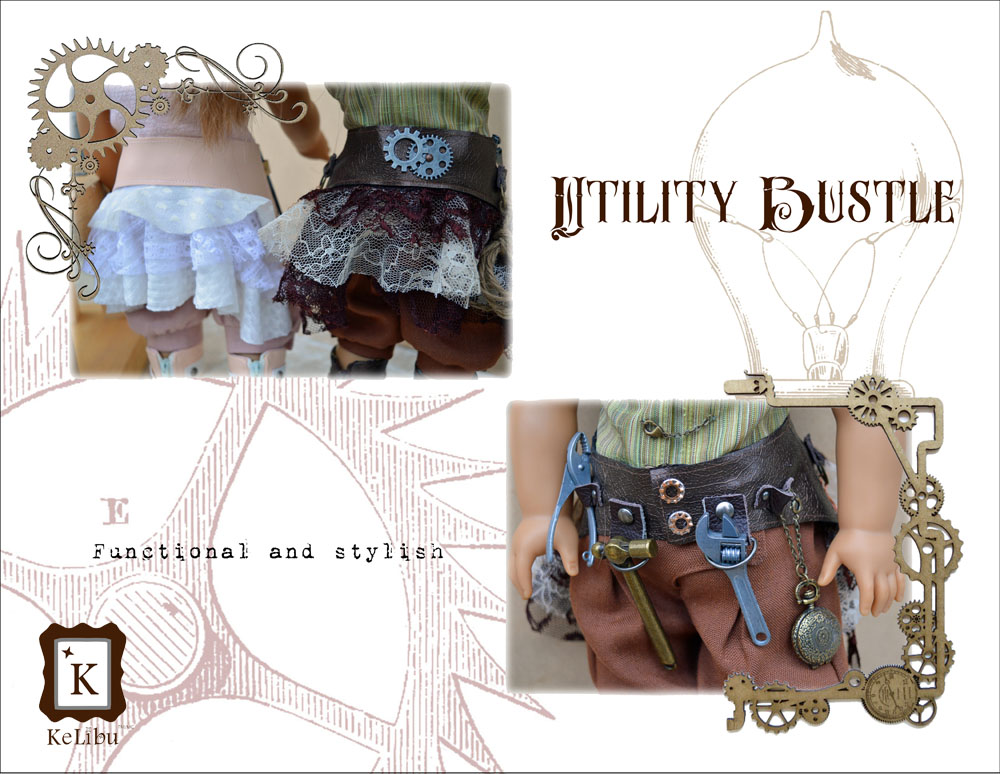steampunk outfits for 18 inch dolls