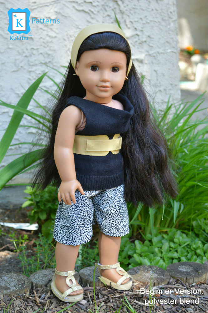 culottes for 18 inch dolls