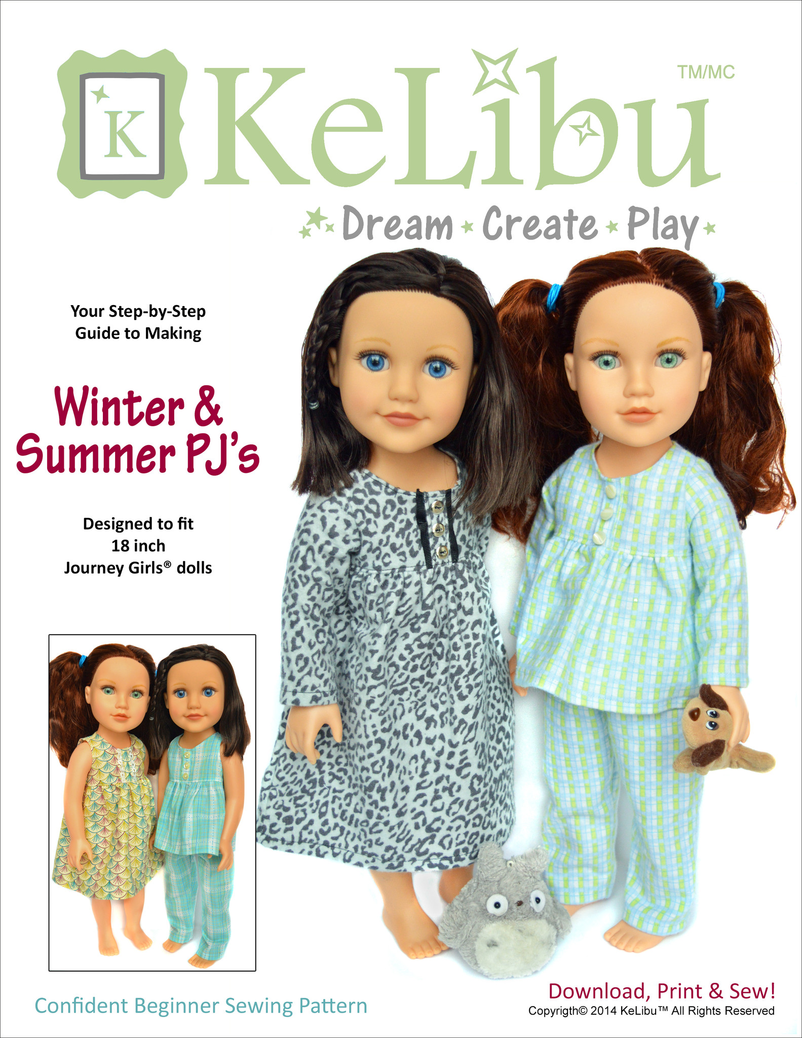 pj's for Journey Girls dolls