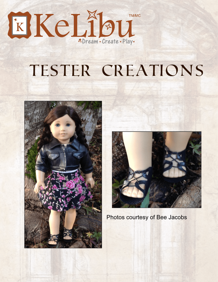sandals for 18 inch dolls