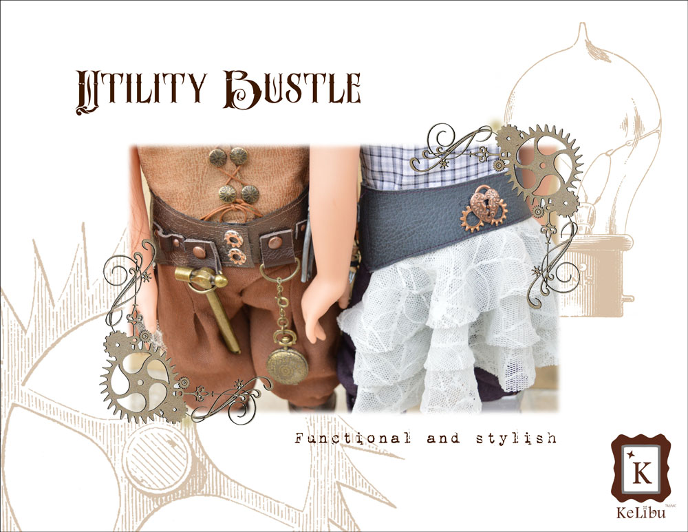 steampunk outfit for Journey Girls dolls