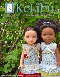 Mori Girl Shrug for 14-14.5 inch dolls