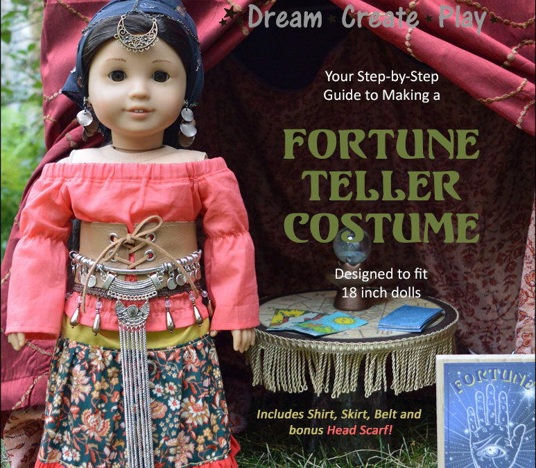 Fortune Teller Costume for 18 inch dolls