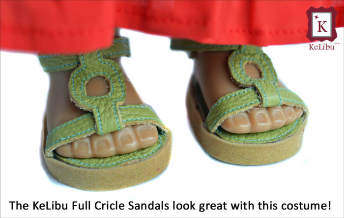 KeLibu Full Circle Sandals pattern
