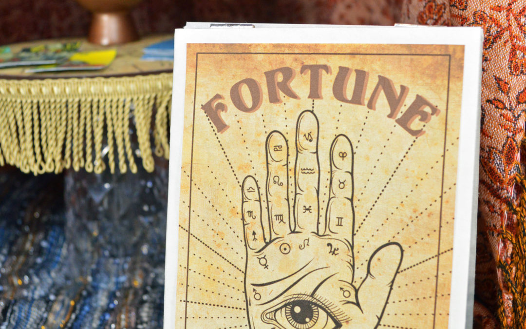 Make a Fortune Teller Sign