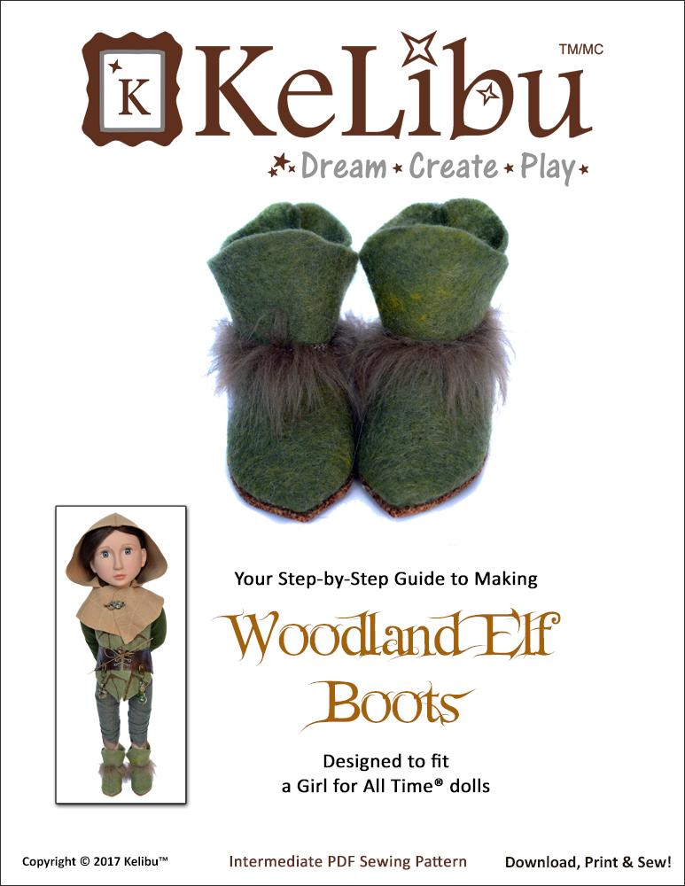 KeLibu Woodland Elf boots