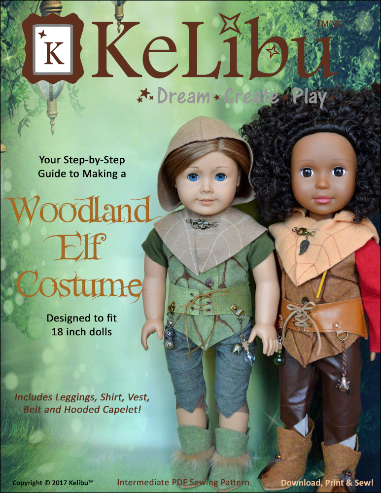 KeLibu Woodland Elf pattern