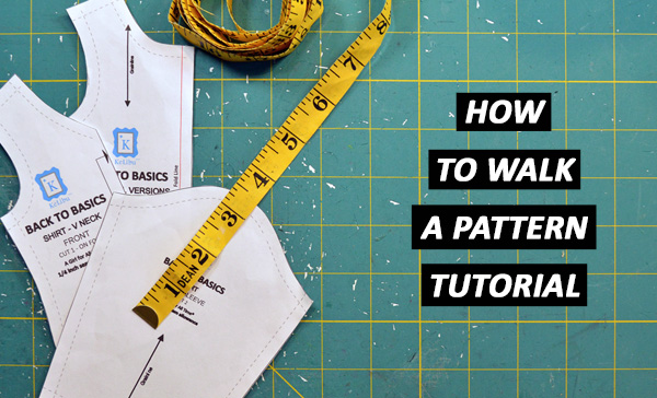 How to Walk a Pattern – TUTORIAL