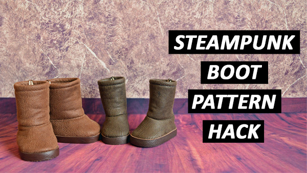 Steampunk Boot Pattern Hack