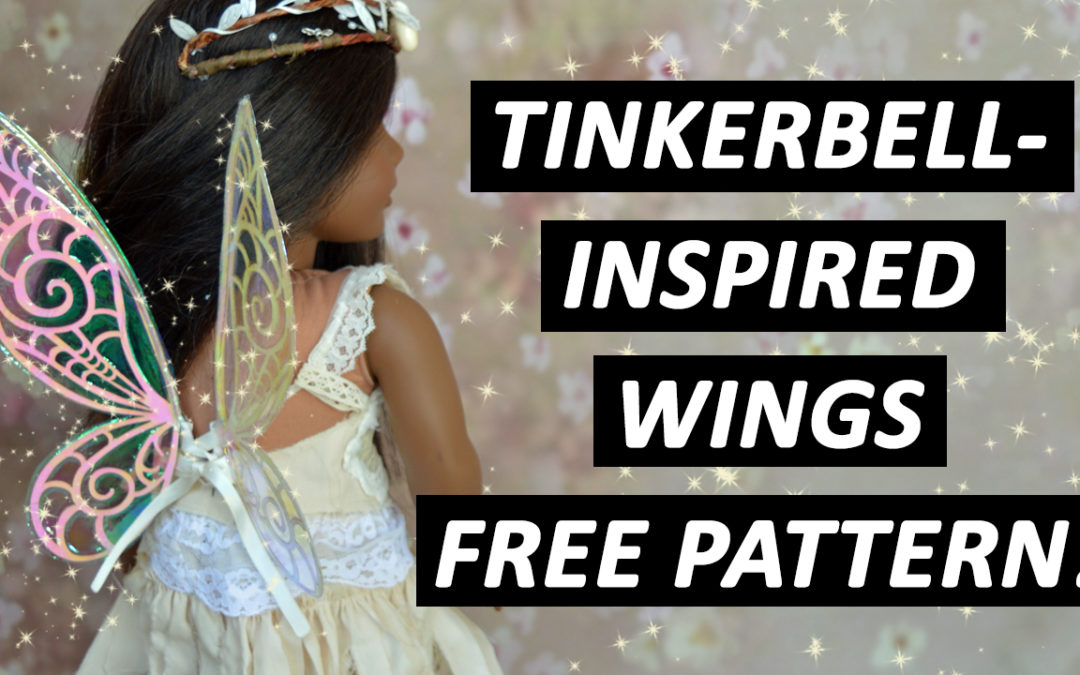 Tinkerbell-inspired wings – FREE PATTERN!