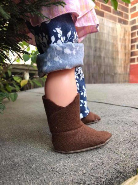 Woodland Elf Boot  Side