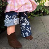 Woodland Elf Boot front