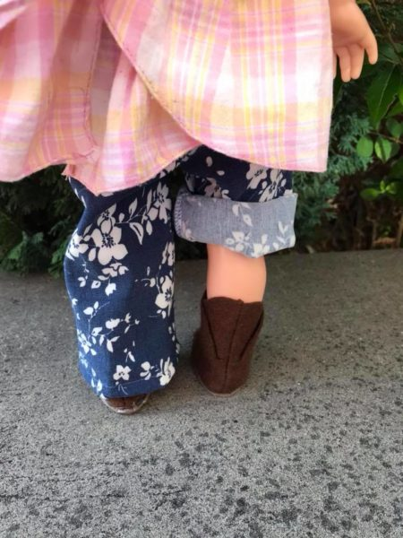 Woodland Elf Boot back