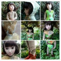 Woodland elf costume KeLibu  A Girl for all Time