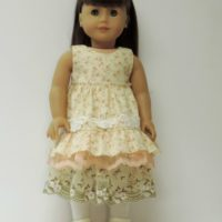 Mori Girl Ruffled Dress
