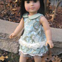 Mori Girl Collard Dress