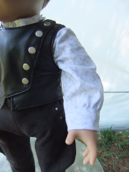 Steampunk Aviator Costume-shirt